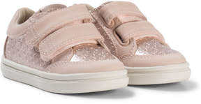 Mayoral Rose Pink Embossed Velcro Trainers