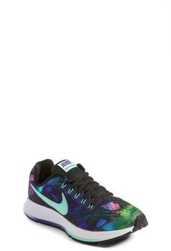 Nike Girl's Zoom Pegasus 34 Print Sneaker