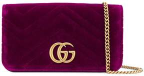 Gucci GG Marmont logo clutch