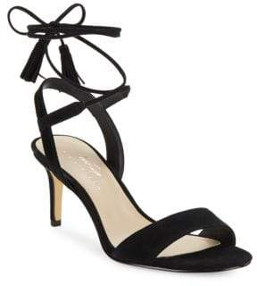 424 Fifth Giovanna Suede Sandals