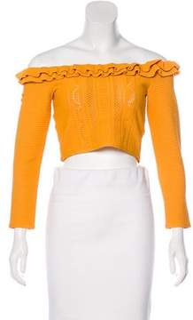 Alice McCall Cropped Knit Top w/ Tags