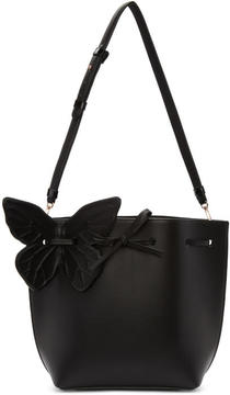 Sophia Webster Black Remi Butterfly Bucket Bag