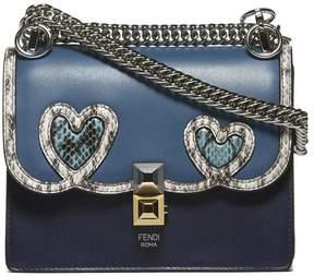 Fendi Exotic Detail Shoulder Bag