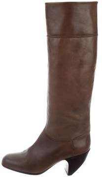 Marc Jacobs Knee-High Leather Boots