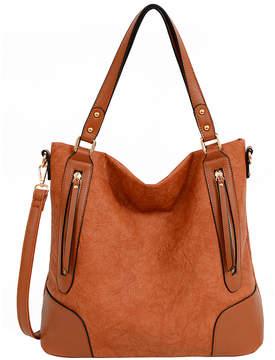 Mellow World Cognac Deborah Hobo Bag