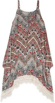 Knitworks Knit Works Sleeveless Print Hanky Dress - Girls' 7-16