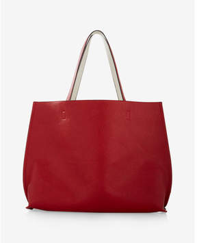 Express Street Level Reversible Tote With Wristlet