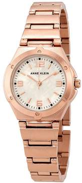 Anne Klein Ladies Rose Gold-tone Watch