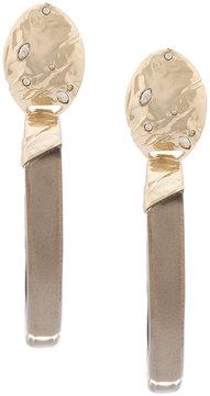 Alexis Bittar chunky hoop earrings