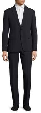 Armani Collezioni Solid Seersucker Suit