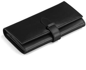 Aspinal of London London Ladies Purse Wallet In Smooth Black