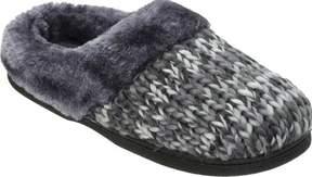 Dearfoams Chunky Space-Dye Knit Clog Slipper (Women's)