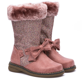 Rachel Pink Smooth Remmy Boot