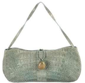 Nancy Gonzalez Crocodile Shoulder Bag