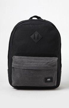 Vans Old Skool Plus Black Laptop Backpack