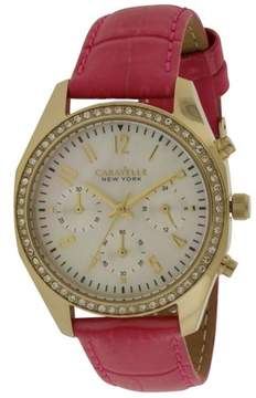 Bulova Caravelle New York Melissa Leather Ladies Watch 44L169