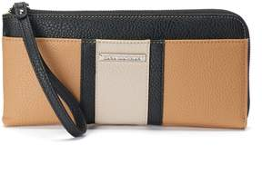 Dana Buchman Claire Colorblock Zip Wallet