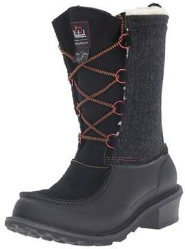 Woolrich Women's Fully Wooly Lace Winter Boot.