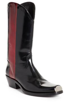 Calvin Klein Men's Chris Western Metal Tip Boot