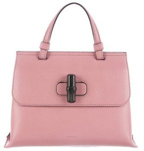 Gucci Bamboo Daily Bag - PINK - STYLE