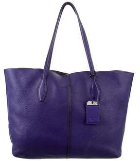 Tod's D-Cube Textured Leather Tote