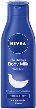 Nivea Rich Body Milk by 250ml Milk)