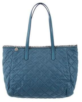 Stella McCartney Quilted Shaggy Deer Tote