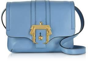 Paula Cademartori Lichen Blue Leather Gigi Crossbody Bag