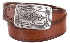 Maje Leather Buckle Belt