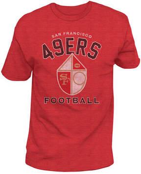 Authentic Nfl Apparel Men's San Francisco 49ers Midfield Retro T-Shirt