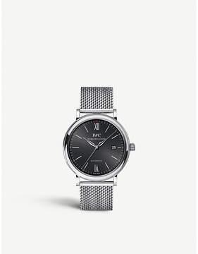 IWC IW356504 Portofino stainless steel watch