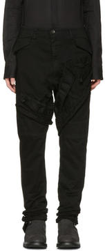 Julius Black Signature Cargo Pants