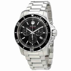 Movado Series 800 Chronograph Black Dial Men's Watch 2600142