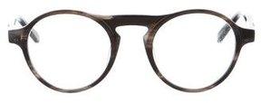 Westward Leaning Westward\\Leaning Marbled Round Eyeglasses