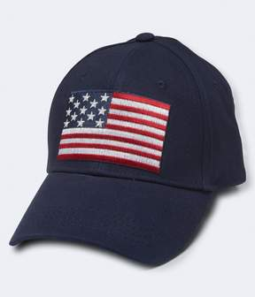 Aeropostale American Flag Fitted Hat