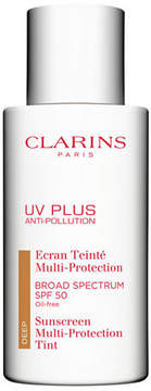 Clarins UV Plus Anti-Pollution Broad Spectrum SPF 50 Tinted Sunscreen Multi-Protection, 1.7 oz.