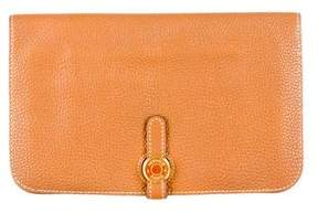 Hermes Dogon Combined Wallet - BROWN - STYLE