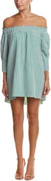 Alythea Off-The-Shoulder Shift Dress