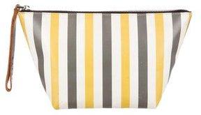 Marni Striped Cosmetic Bag