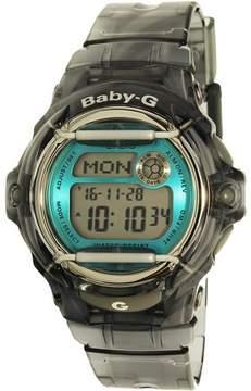 Casio Baby-G Gray Digital Sport Womens Watch BG169R-8B