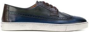 Santoni brogue sneakers