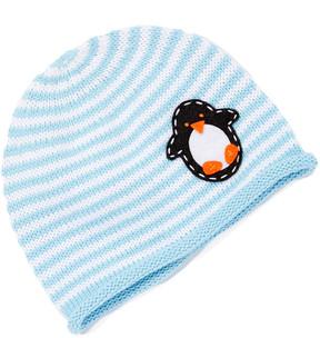 Original Penguin Sky Blue & White Stripe Beanie