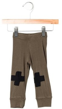 Nununu Boys' Cross Patch Jogger Pants