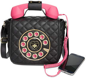 Betsey Johnson Small Quilted Phone Crossbody, a Macy's Exclusive Style