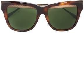 Bottega Veneta square cat eye sunglasses