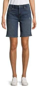 Calvin Klein Jeans City Distressed Denim Shorts