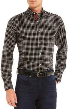 Daniel Cremieux Windowpane Long-Sleeve Woven Shirt