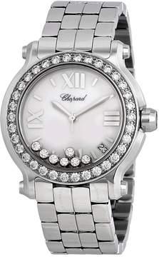 Chopard Happy Sport White Dial Quartz Ladies Watch