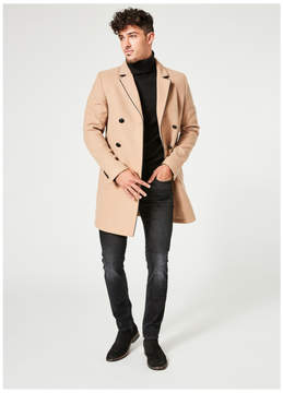 GUESS Harlan Double-Breasted Coat