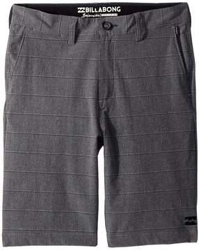 Billabong Kids Crossfire X Stripe Shorts Boy's Shorts